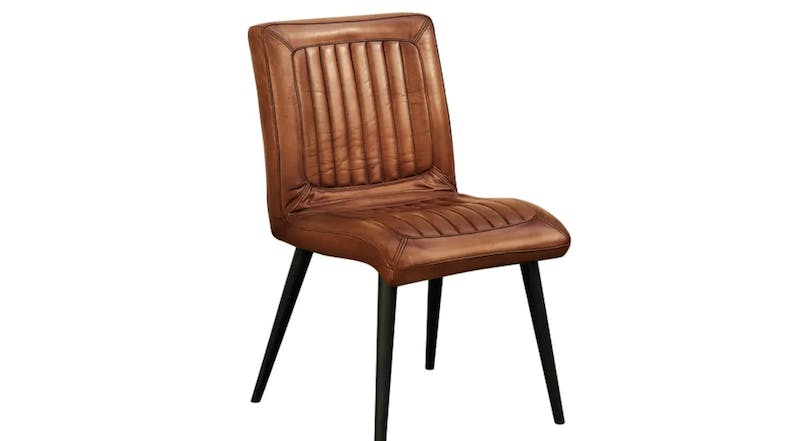 Oliver B 500's Series Leather Chair - Camel