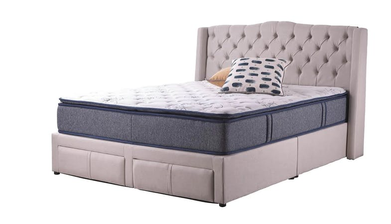 Alabama Queen Size Storage Bed Frame