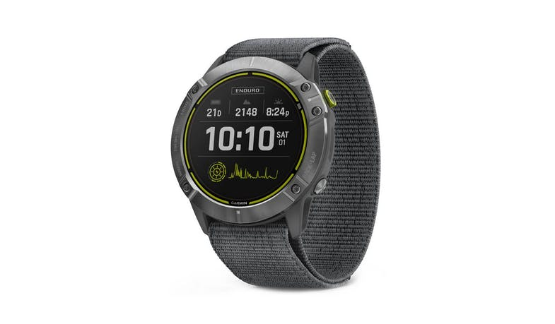 Garmin Enduro GPS Solar Smartwatch - Grey Steel - Main
