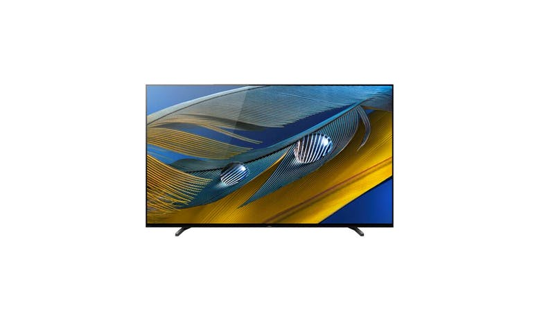 Sony 65-inch OLED 4K Ultra HD Smart TV XR-65A80J - Front View