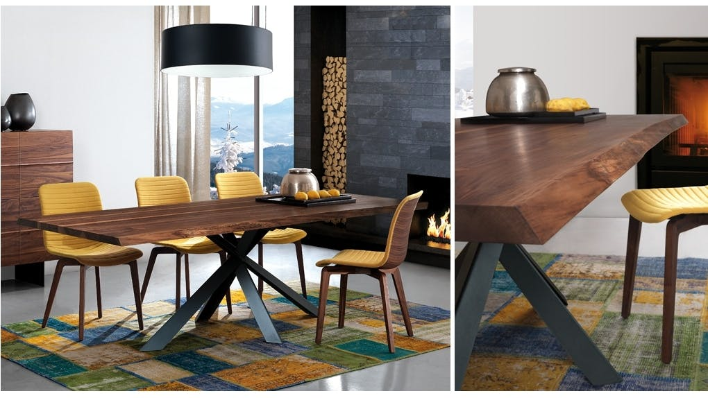 Oliver b montana dining table harvey norman singapore for Dining room tables harvey norman
