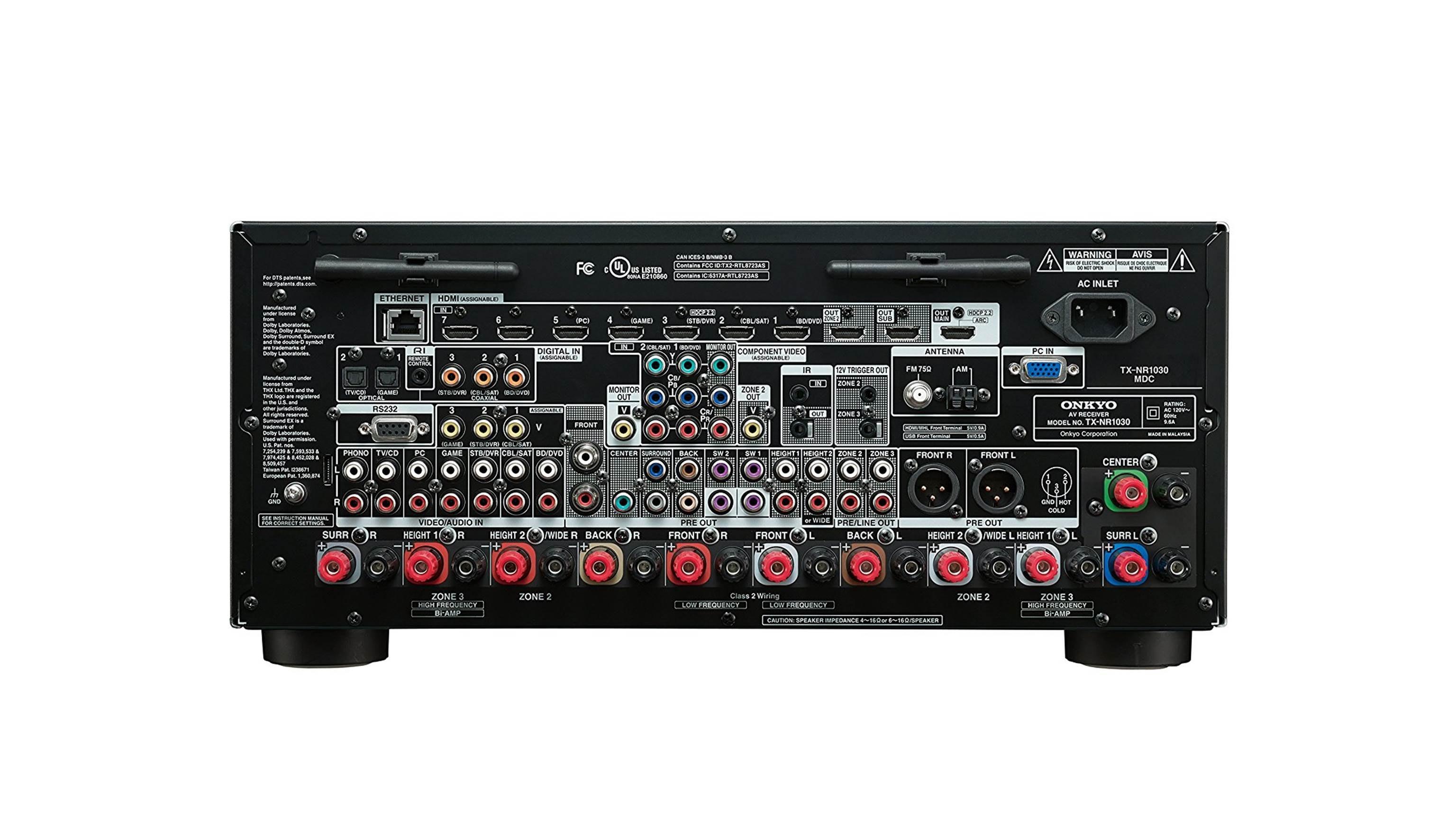 Onkyo TX-SR373 5.1ch AV Receiver-(1)