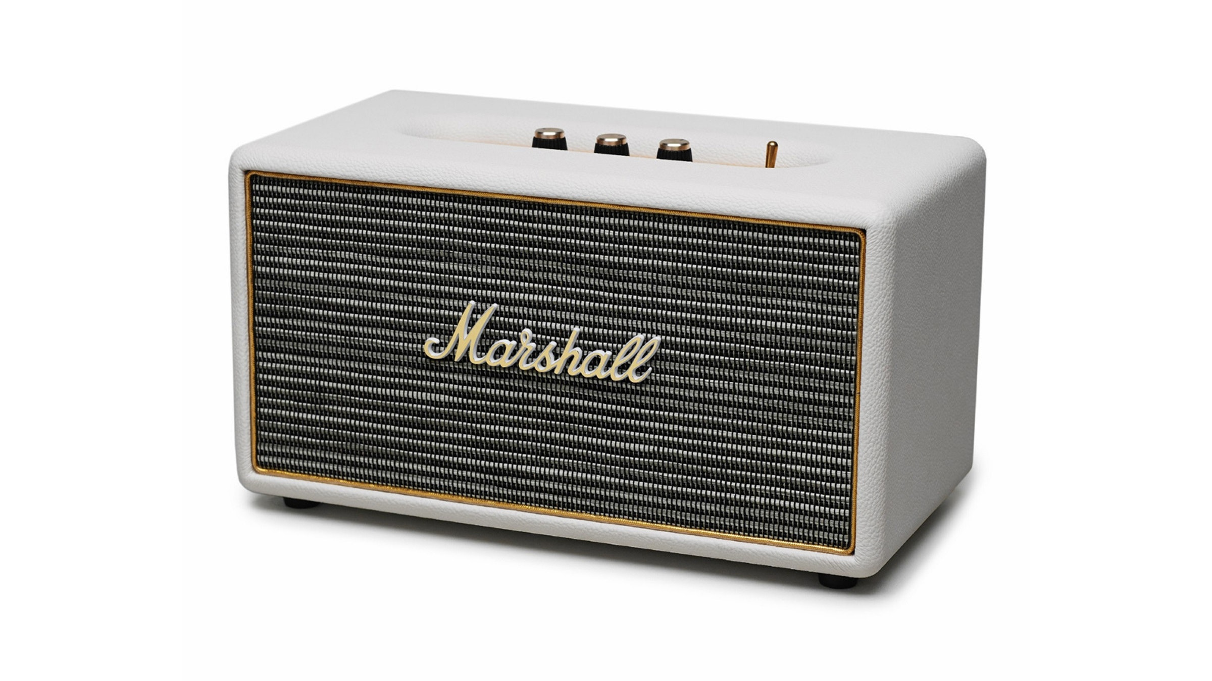 Marshall Stanmore Cream Speaker Harvey Norman Singapore