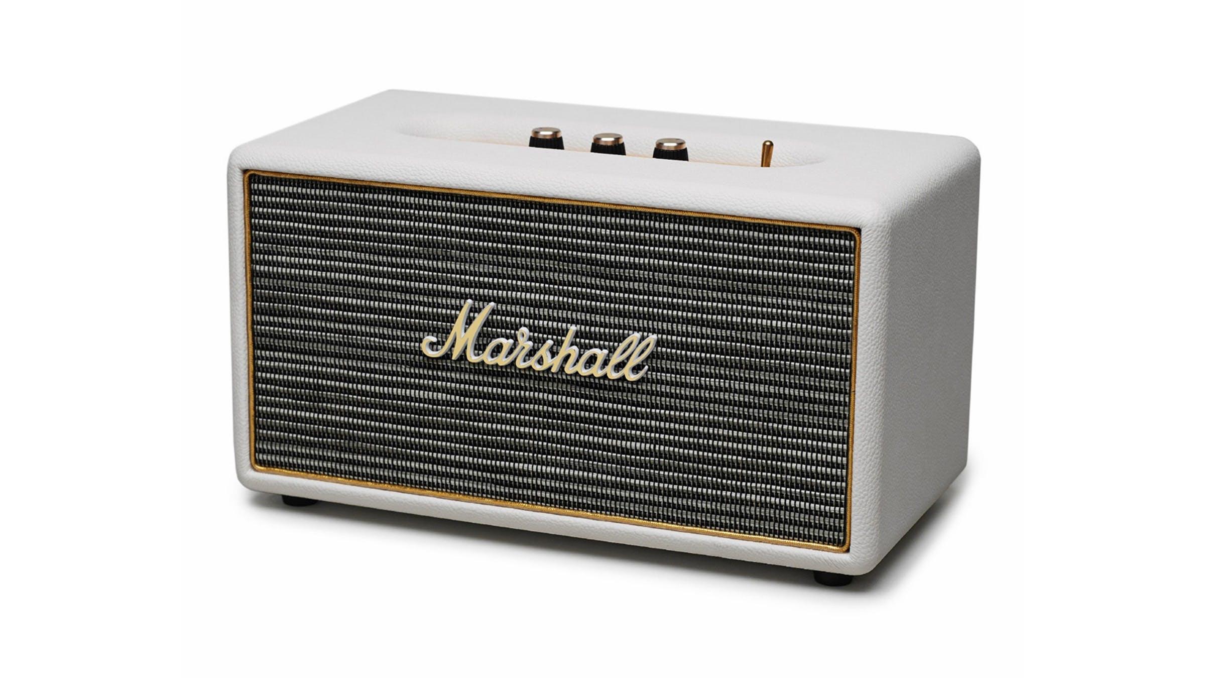 Marshall Stanmore Cream Speaker Harvey Norman Singapore