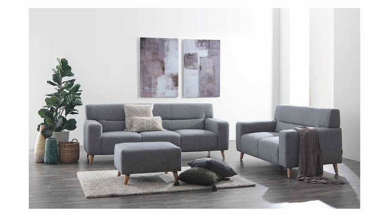 Rio Full Fabric 2 Seater Sofa