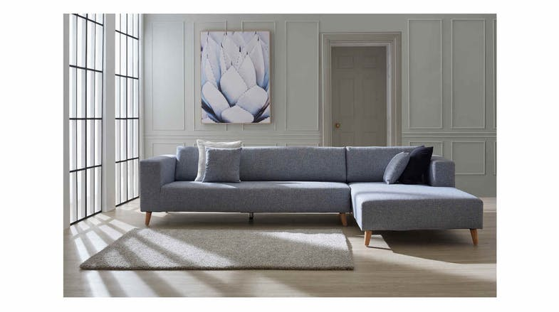 Vivien 2 Seater Sofa with Chaise Lounge