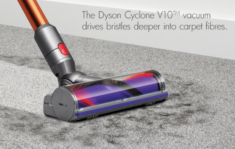 dyson cyclone v10 absolute cord free vacuum cleaner harvey norman singapore. Black Bedroom Furniture Sets. Home Design Ideas