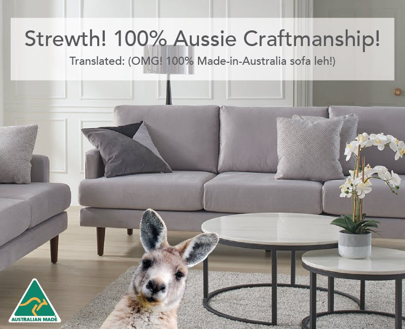 Made In Australia Sofas Harvey Norman