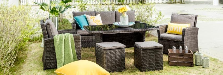 Enjoy our outdoor living range