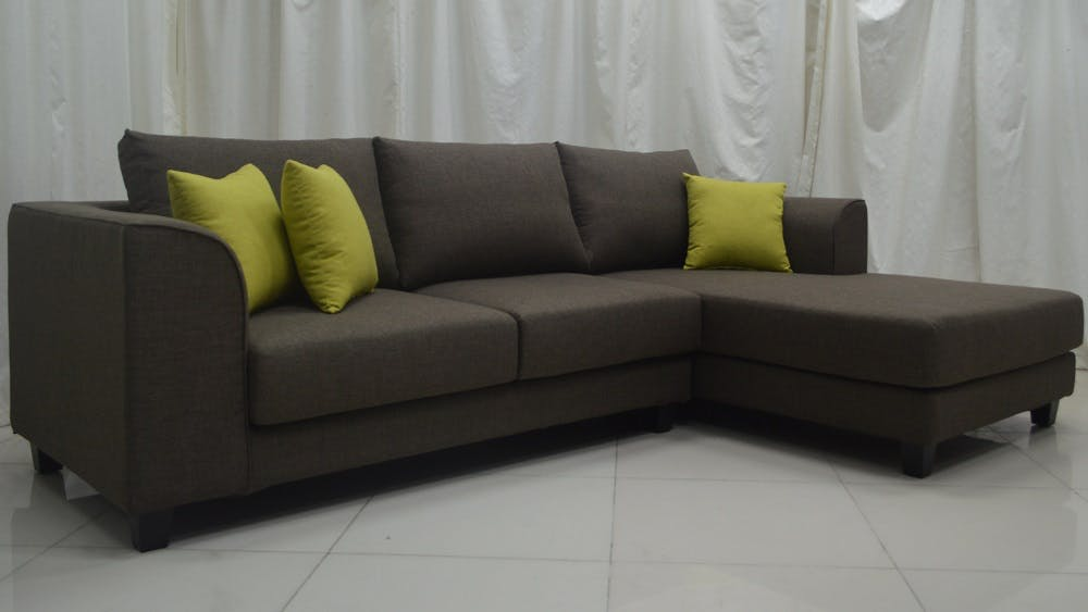 Marino 2 Seater Washable Fabric Sofa With Lhf Chaise Harvey Norman