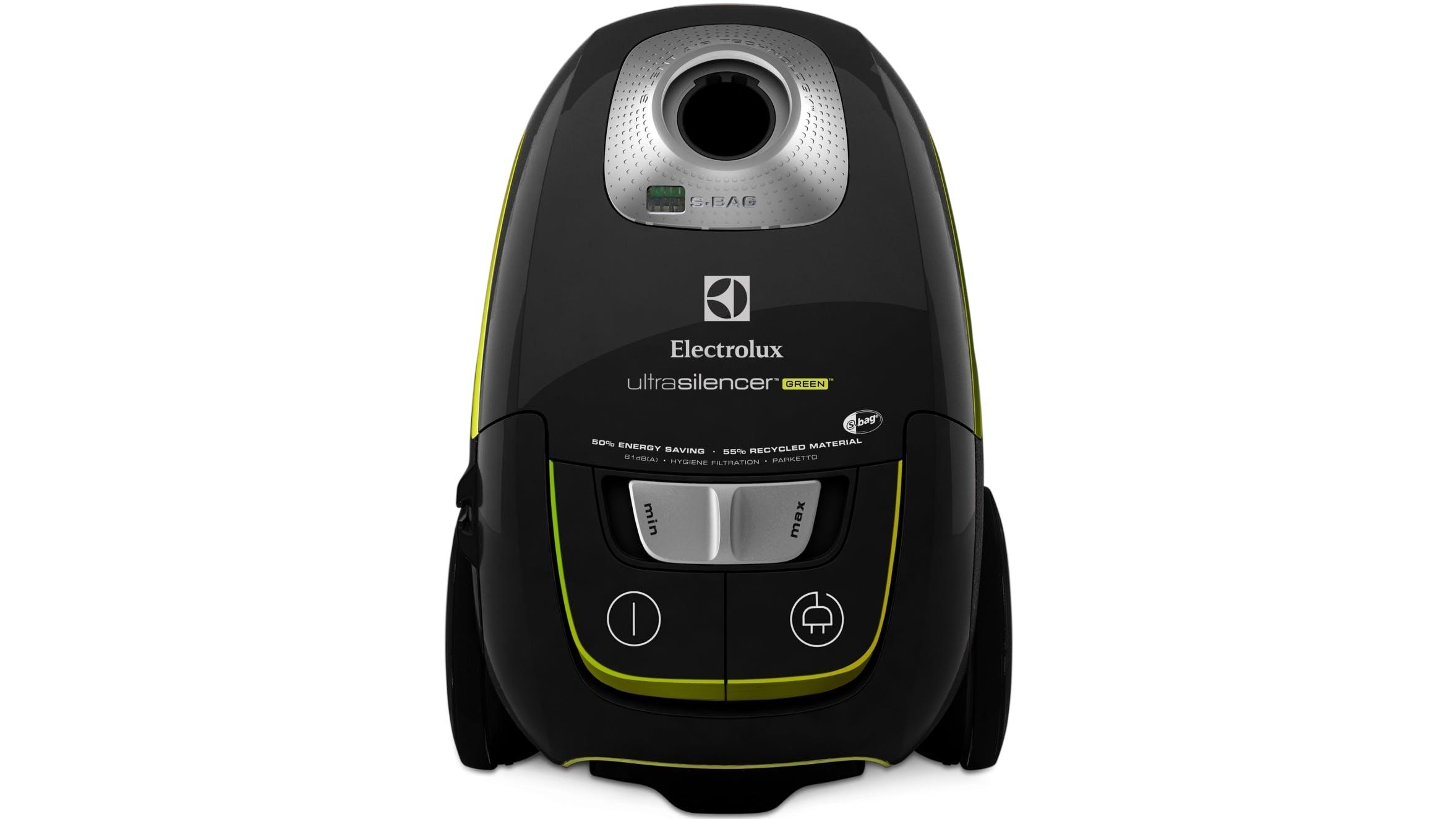 electrolux ultrasilencer green vacuum cleaner black. Black Bedroom Furniture Sets. Home Design Ideas