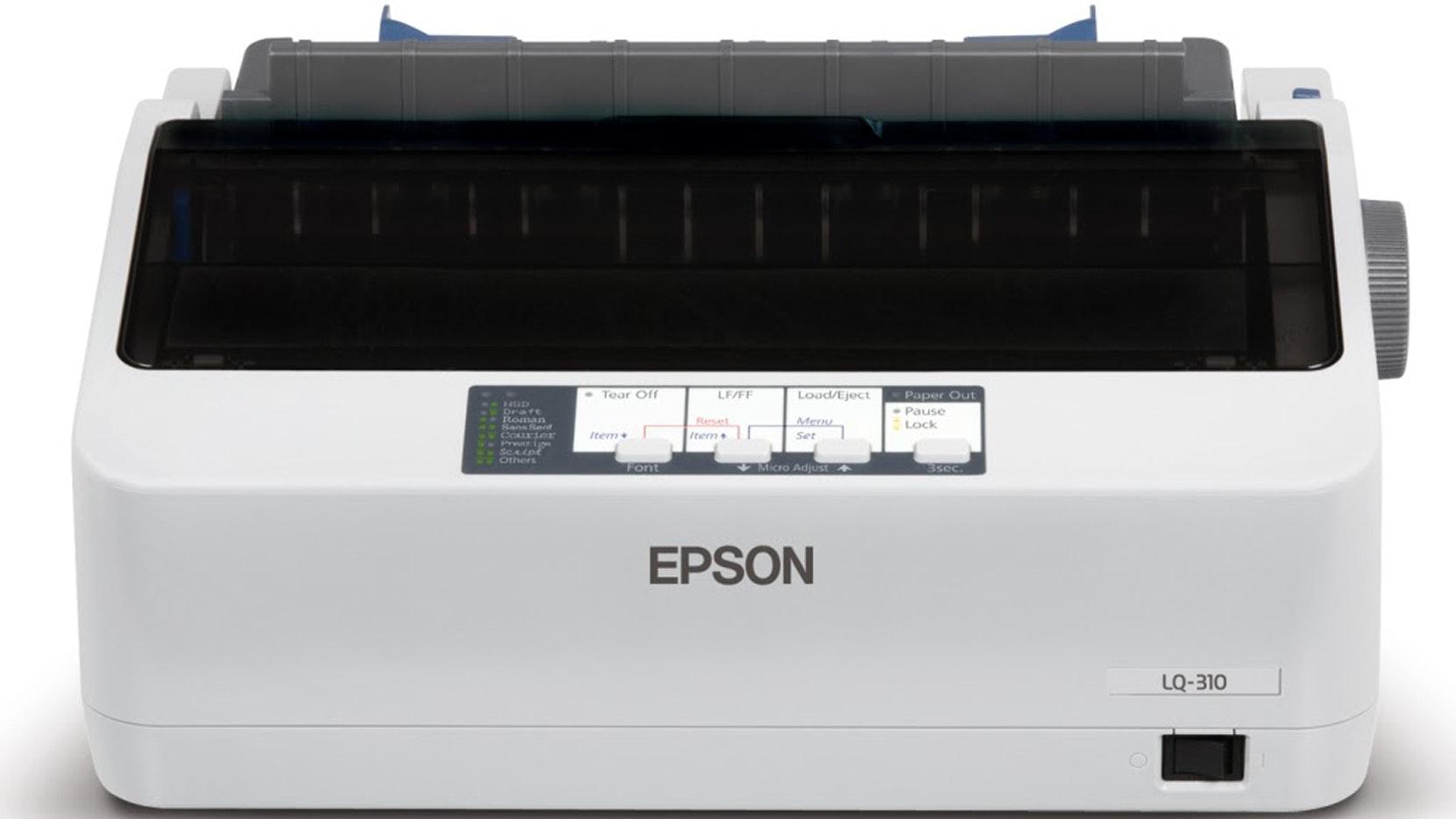 Epson Lq 310 24 Pin Impact Printer Harvey Norman Malaysia