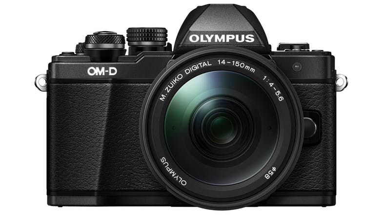 Olympus E-M10 Mark II w/14-150mm Lens - Black 01