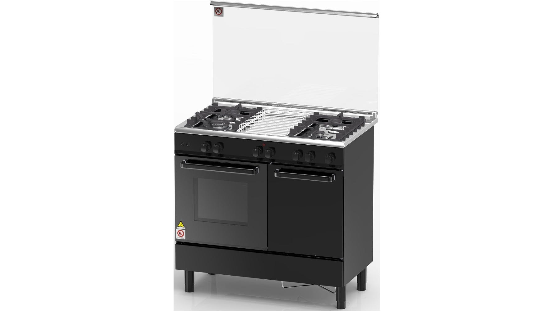 Oven Ovens Stove Cooker Belling Smeg Harvey Norman Malaysia Wiring A Zanussi Zcg942k 4 Gas Burner Freestanding