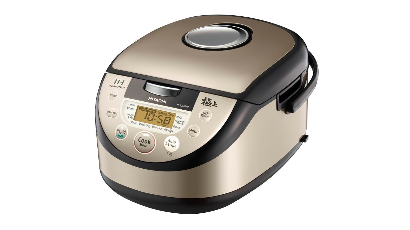 Hitachi 1 8L rice Cooker - Gold