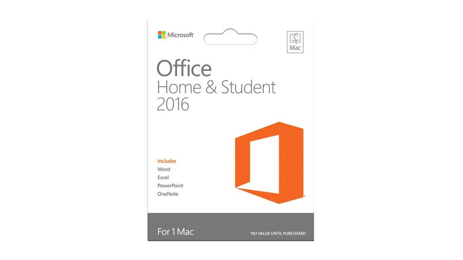 microsoft home and student 2016 for mac