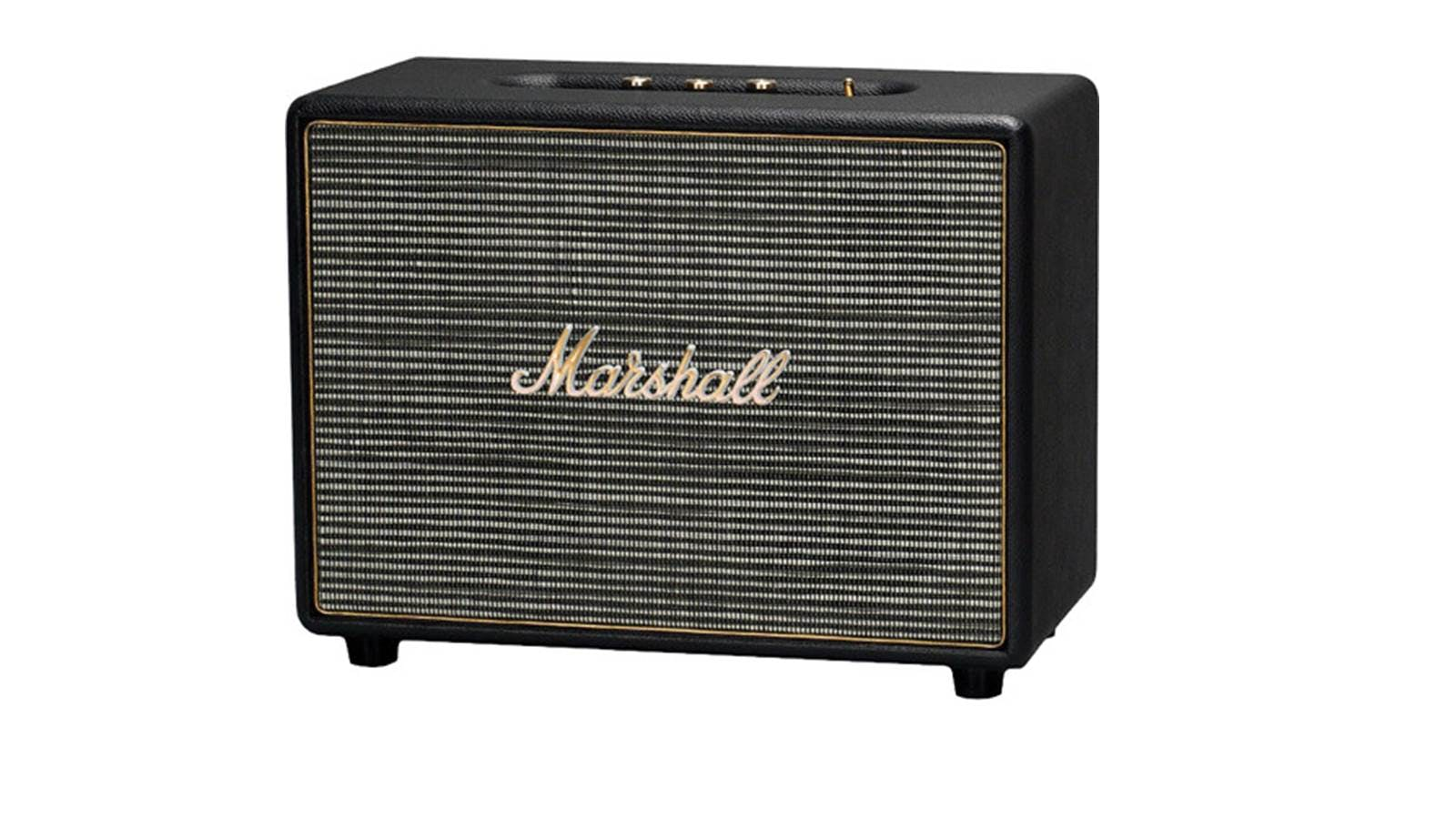 Marshall Woburn Bluetooth Speaker Black Harvey Norman