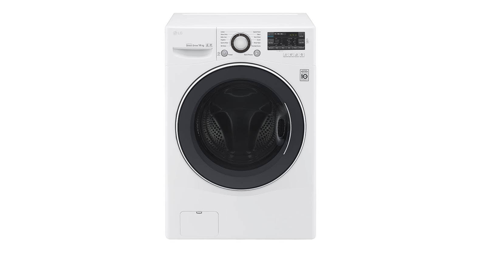 Lg f2514ntgw 14kg front load washer harvey norman malaysia lg f2514ntgw 14kg front load washer buycottarizona Images