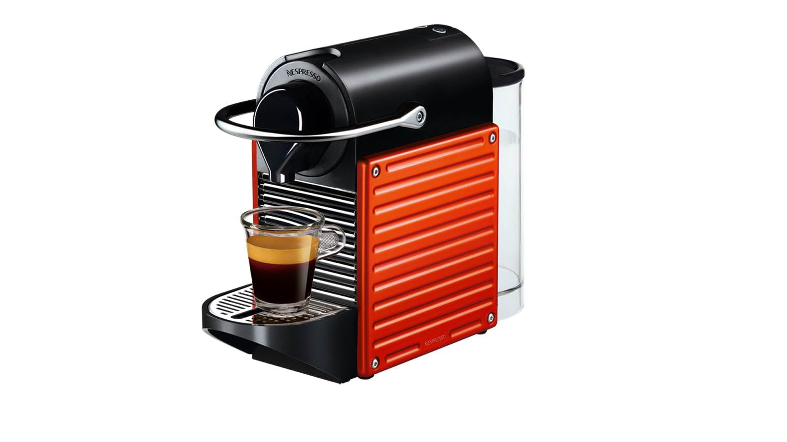 nespresso pixie c60 coffee machine electric red harvey norman malaysia. Black Bedroom Furniture Sets. Home Design Ideas