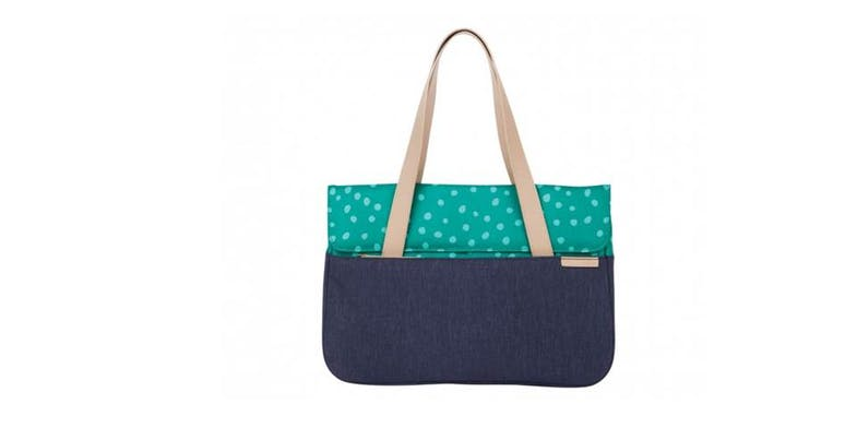 "STM Grace Deluxe 13"" Laptop Sleeve - Teal Dot"