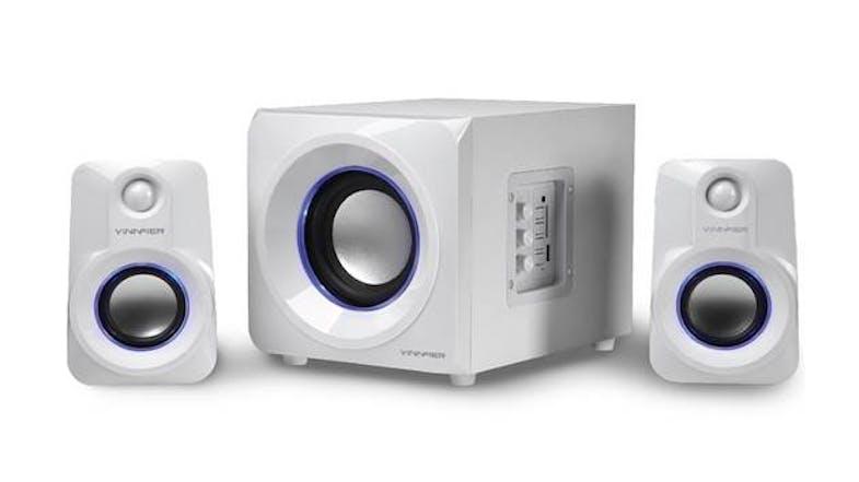 791cf3ea6ac Vinnfier Ecco 5R Speaker - White | Harvey Norman Malaysia