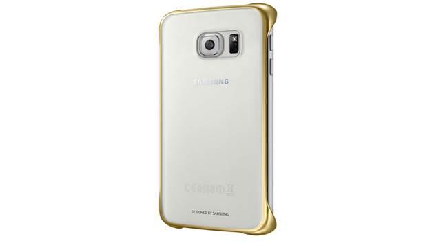 gold samsung s6 edge case