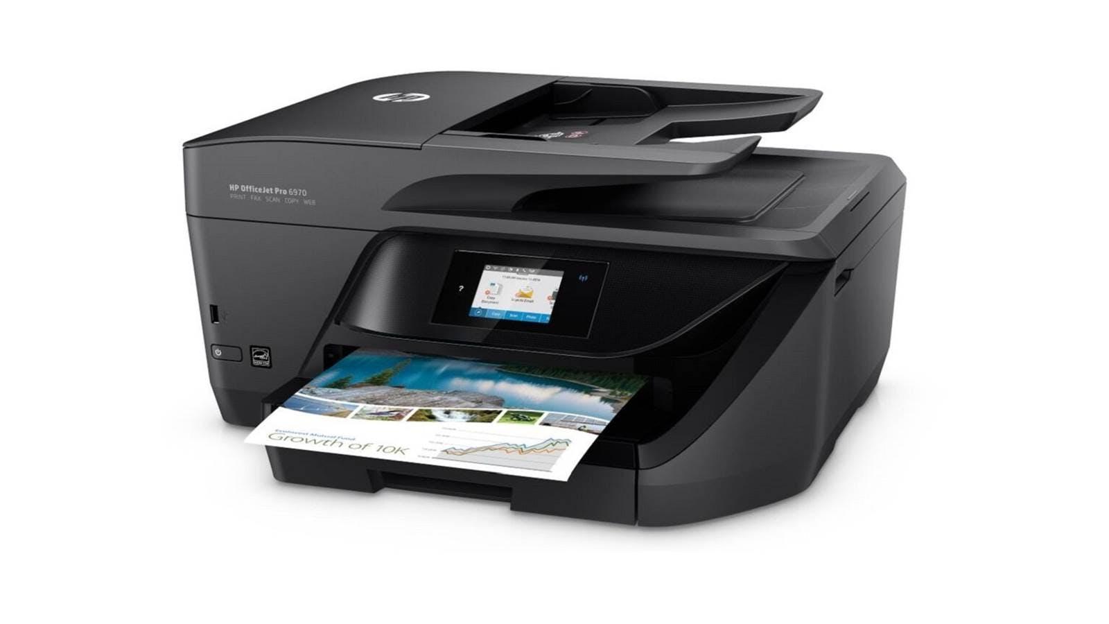 hp officejet pro 6970 all in one printer harvey norman. Black Bedroom Furniture Sets. Home Design Ideas