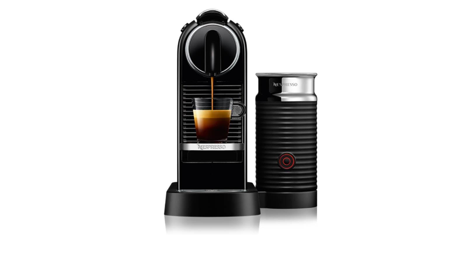 Nespresso D122 CitiZ Milk Coffee Machine