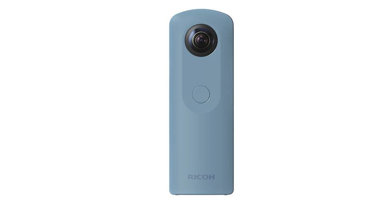 Ricoh Theta S0910743 Digital Camera - Blue 01