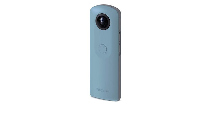Ricoh Theta S0910743 Digital Camera - Blue 02