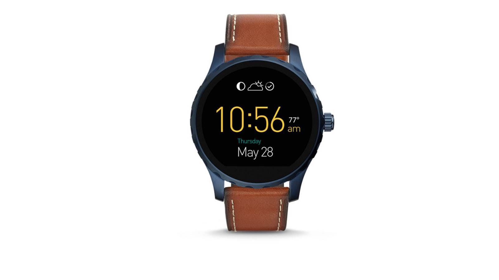 2fcdcb8ead4f Fossil Q Marshal TouchScreen Leather Smartwatch - Choco