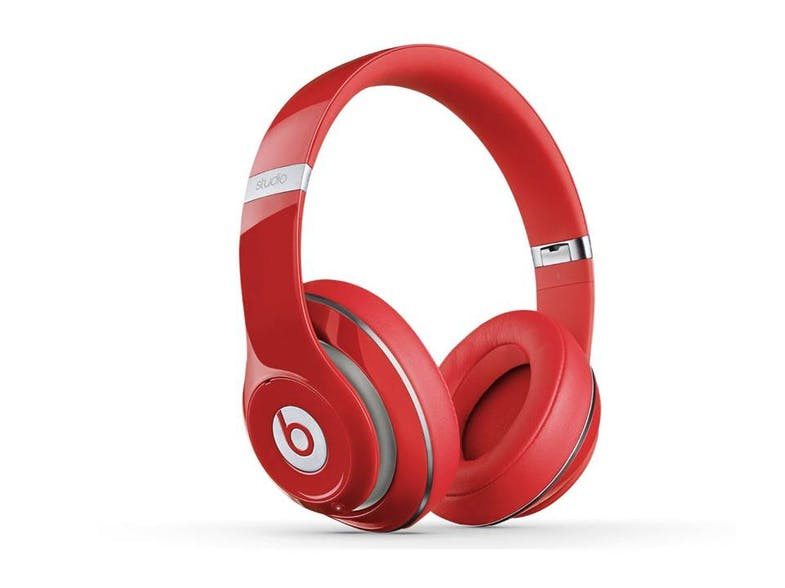 Apple Beats Studio Wireds On-Ear Headphones - Red