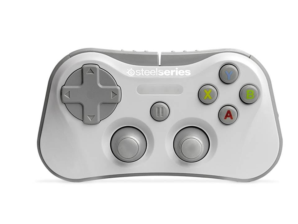 Home :: Computing :: Games Hub :: Gaming Accessories :: PC Gaming  Accessories :: SteelSeries Stratus Wireless Gaming Controller for iOS 7 -  White