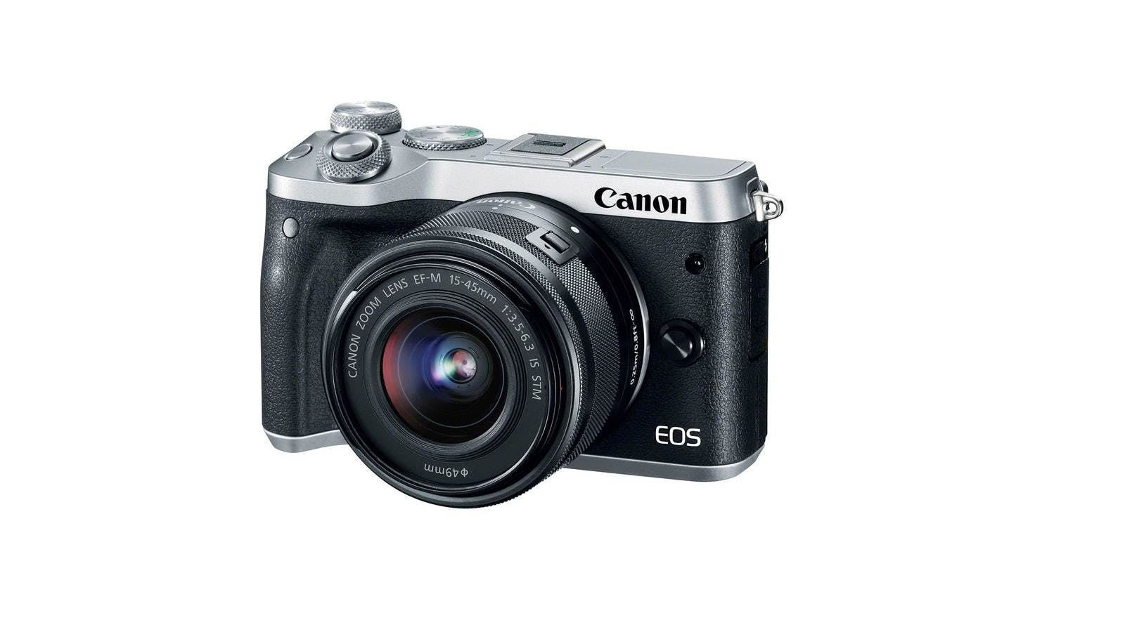 Canon Eos M6 Mirrorless Digital Camera With 15 45mm Lens