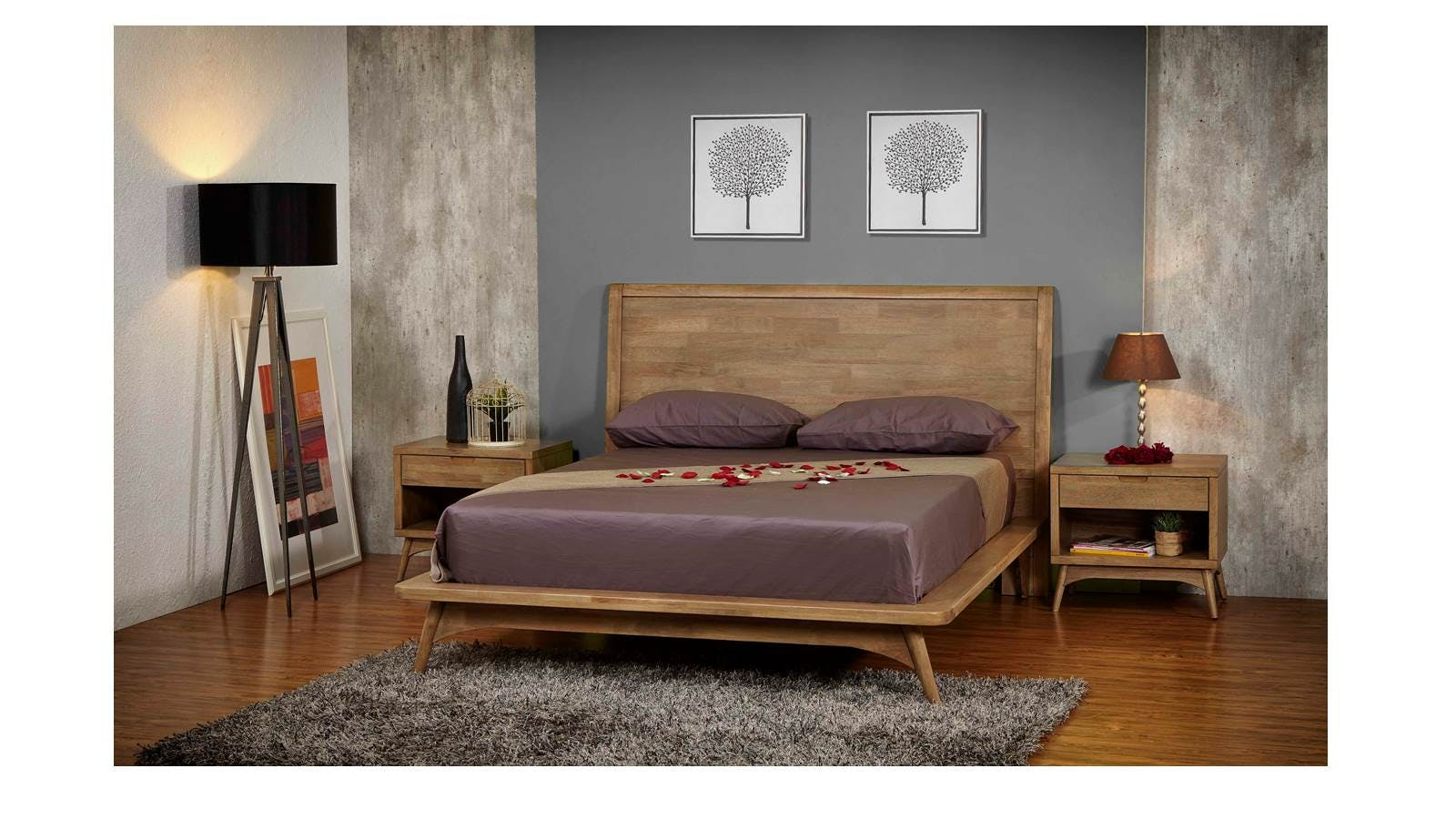 Lavo Queen Bed Frame | Harvey Norman Malaysia