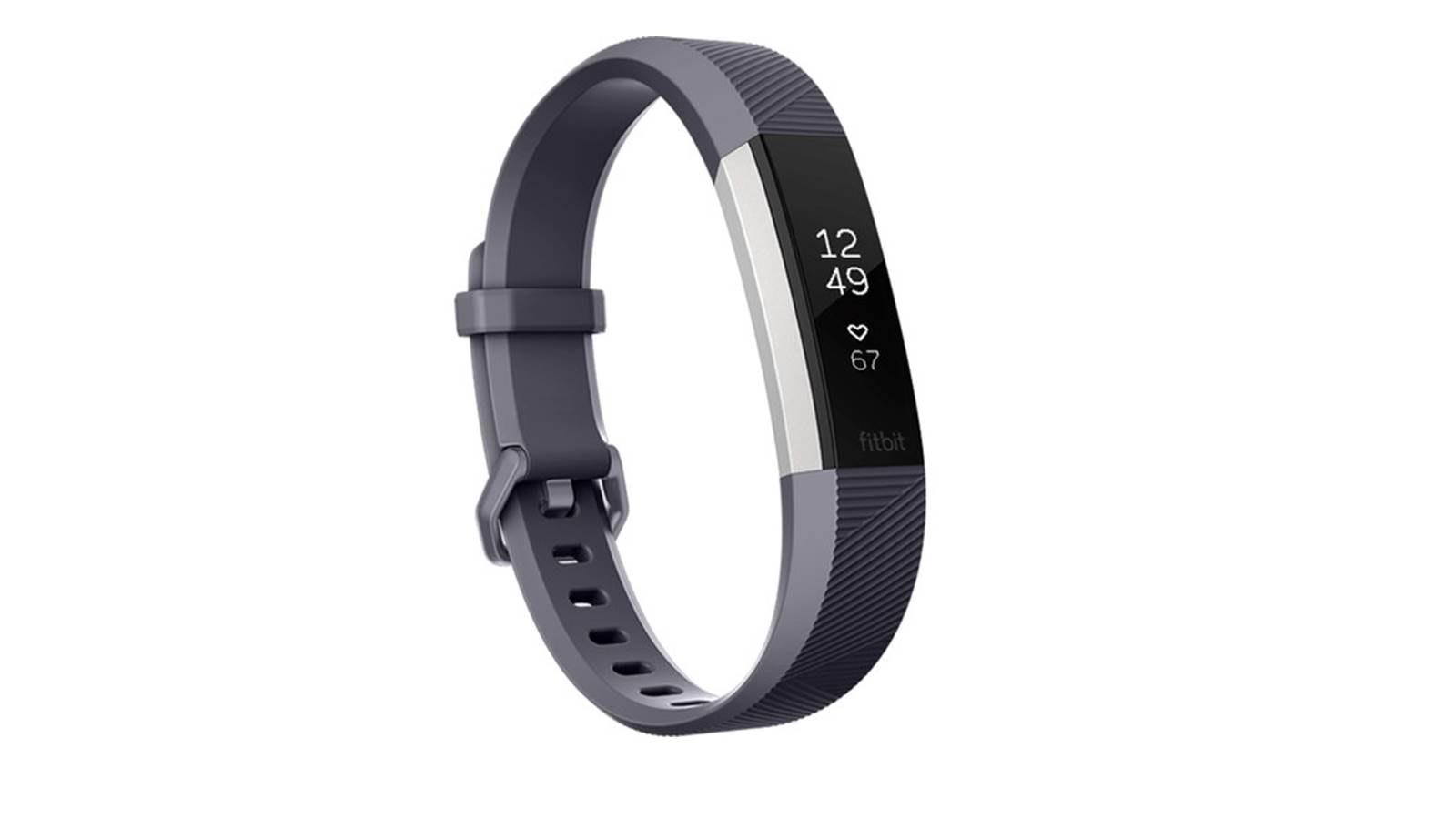 Bedroom Sleep Shop Fitbit Alta Hr Activity Tracker Large Blue Grey Harvey
