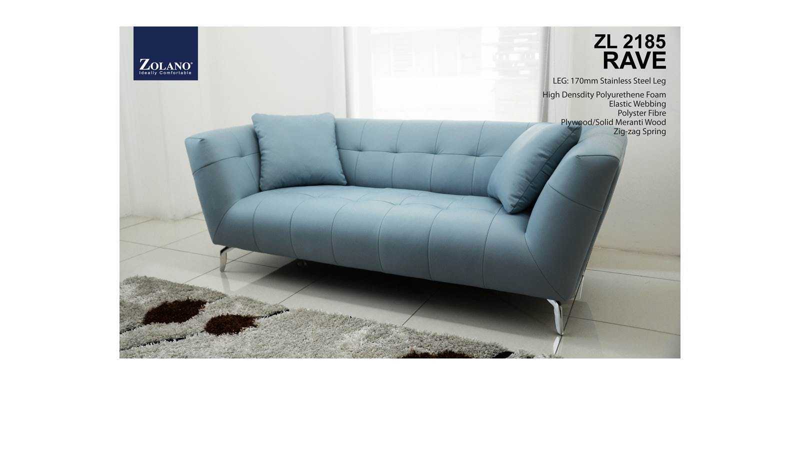 Lea 3 seater full leather sofa set harvey norman malaysia for Sofa chair malaysia