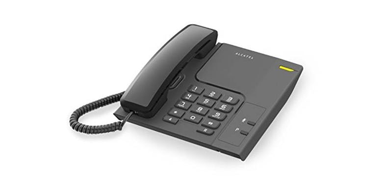 Alcatel T26 Landline Phone - Black