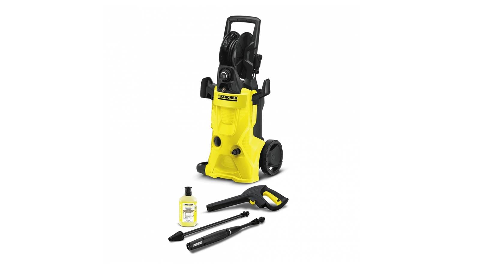 karcher k4 premium high pressure washer harvey norman. Black Bedroom Furniture Sets. Home Design Ideas