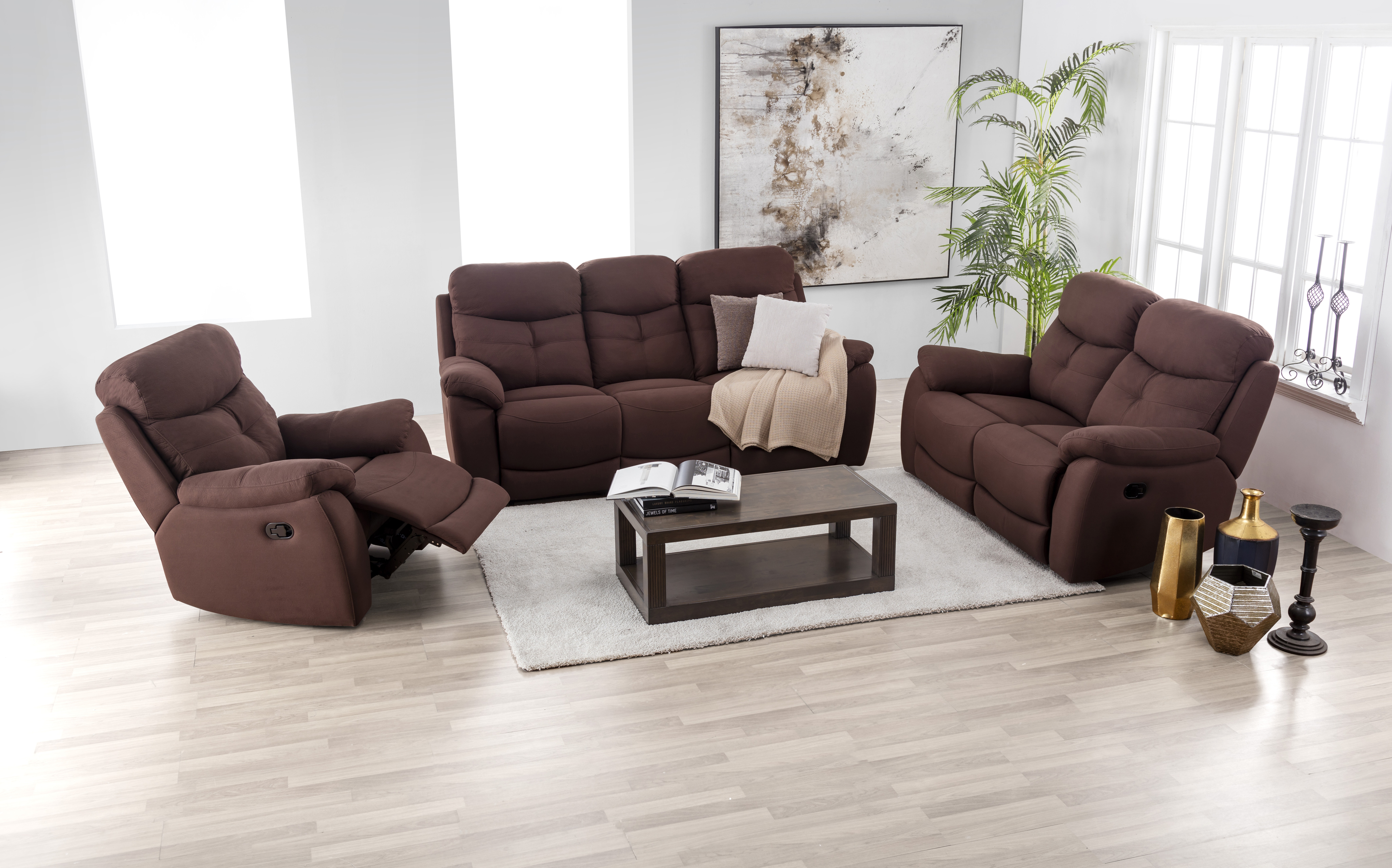 lazio fabric 3 2 seater recliner sofa set harvey norman malaysia rh harveynorman com my  fabric reclining sofa and loveseat set