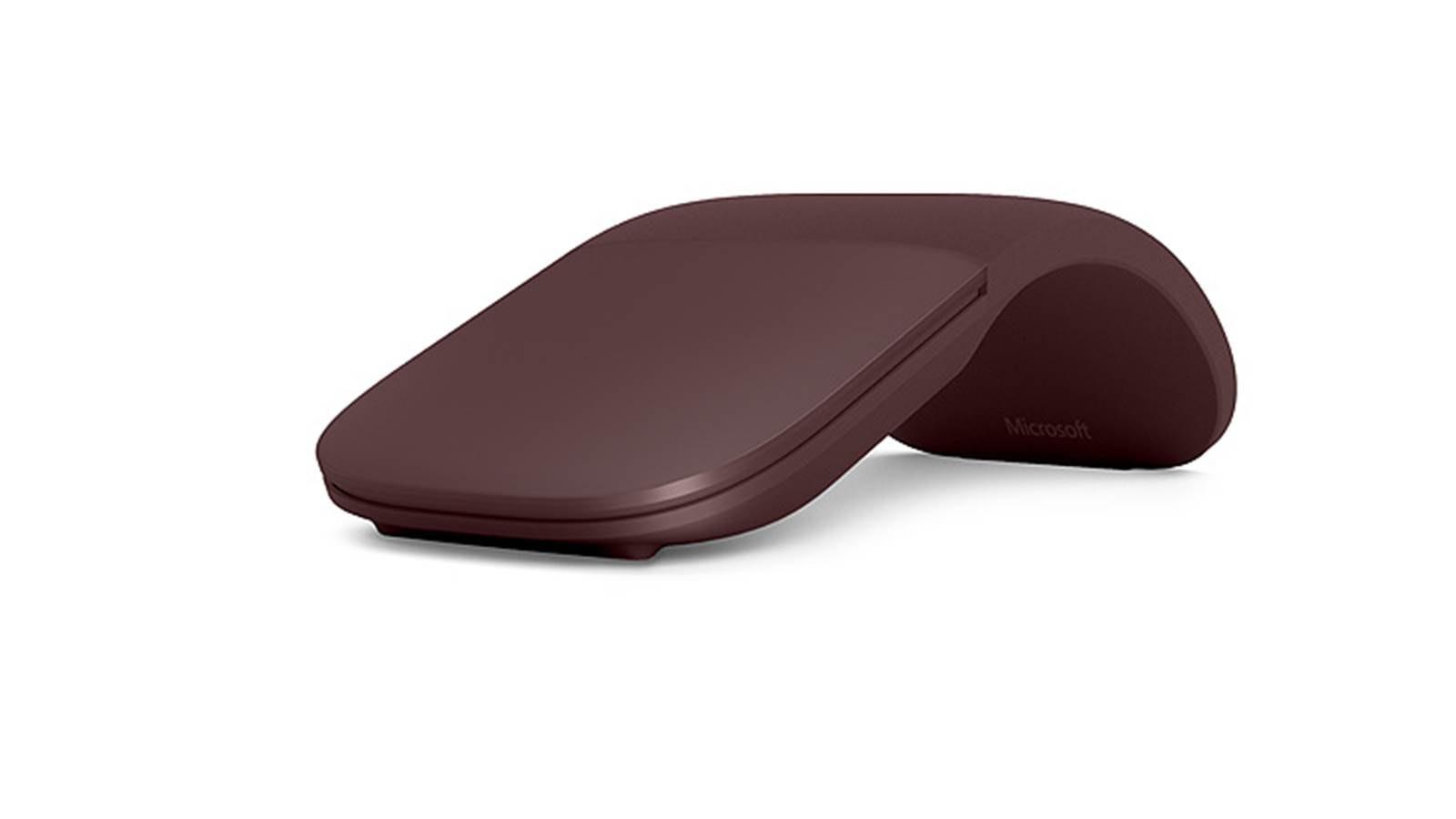 Microsoft Surface Arc Mouse Burgundy Harvey Norman