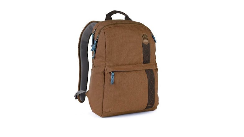 "STM Banks 15"" Laptop Backpack - Brown-01"