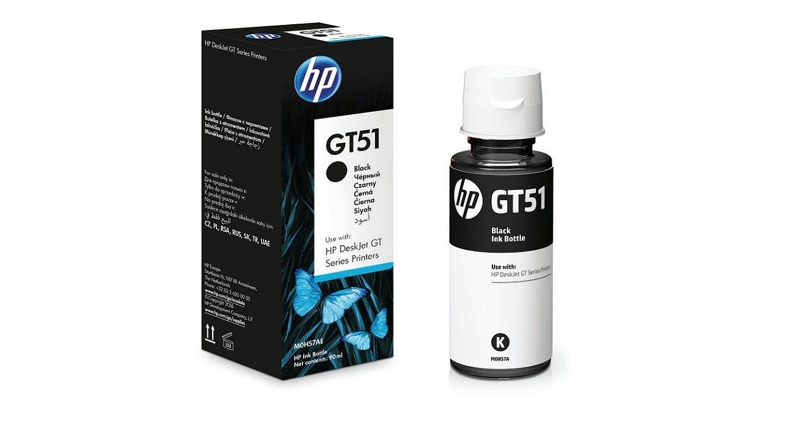 Home :: Computing :: Printing & Scanning :: Inks, Toners & Paper :: HP  M0H57AA GT51 Black Original Ink Bottle