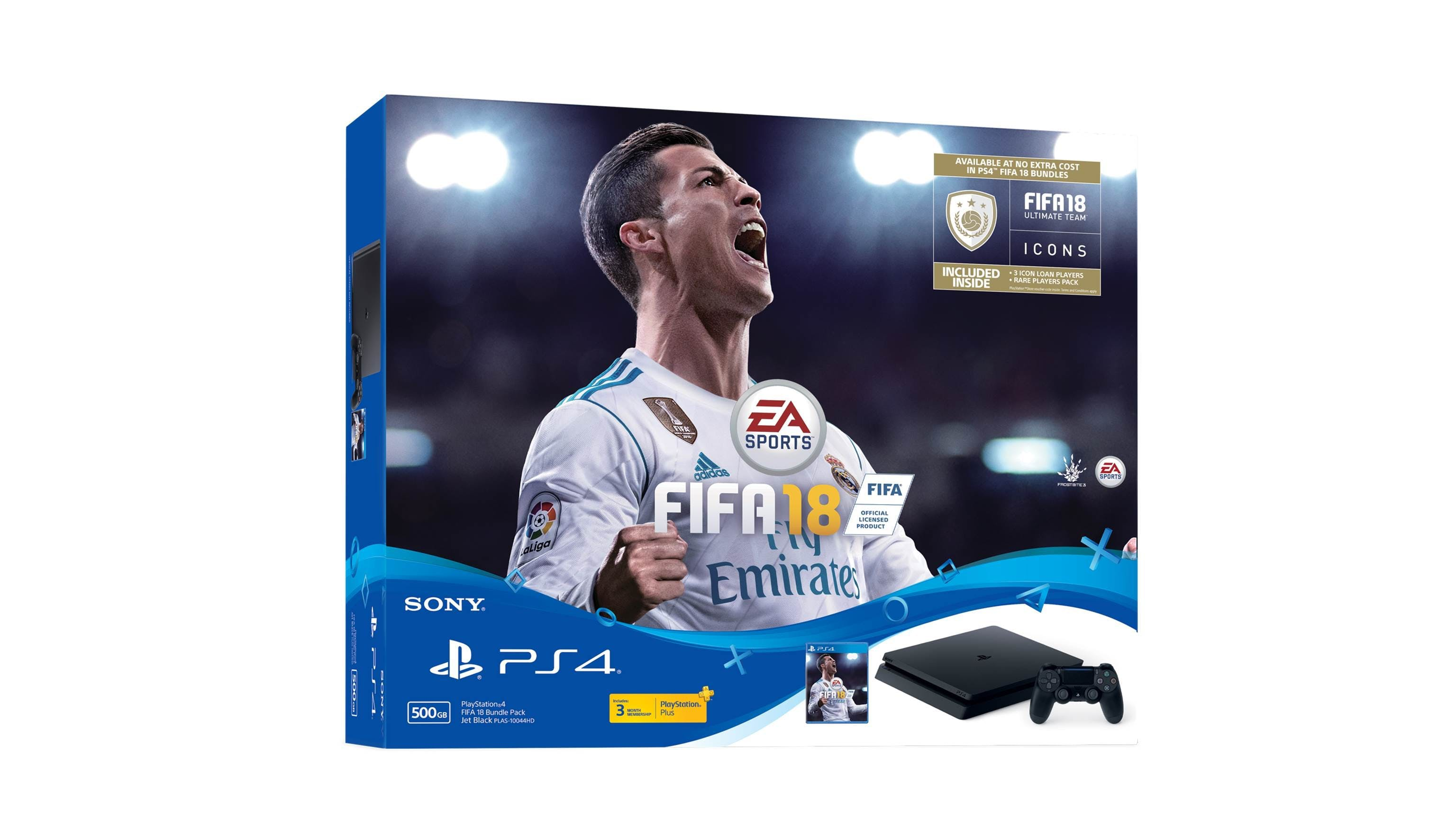 Sony Playstation 4 500gb Console Fifa 18 Bundle Harvey Norman Malaysia Ps4 Kamera