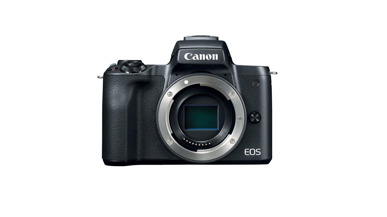 Canon EOS M50 Mirrorless Digital Camera (Body) - Black