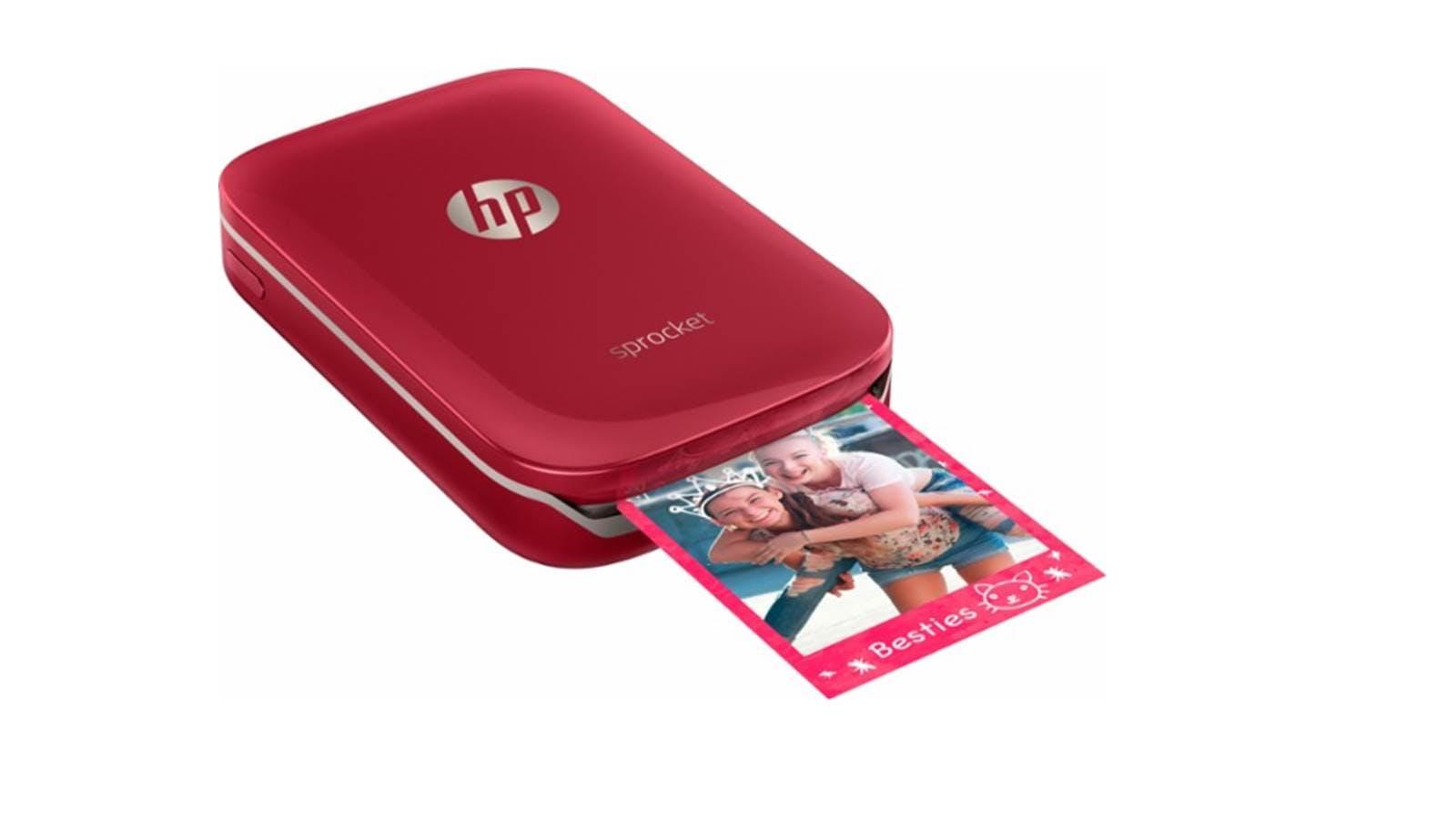 hp sprocket plus photo printer red harvey norman malaysia