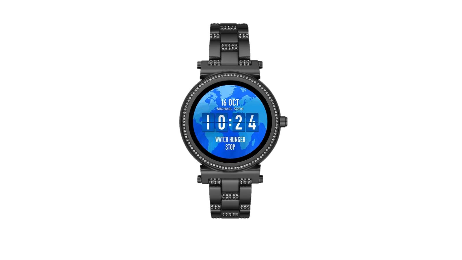 Michael Kors Access 42mm Sofie Pavé Black Tone Smartwatch