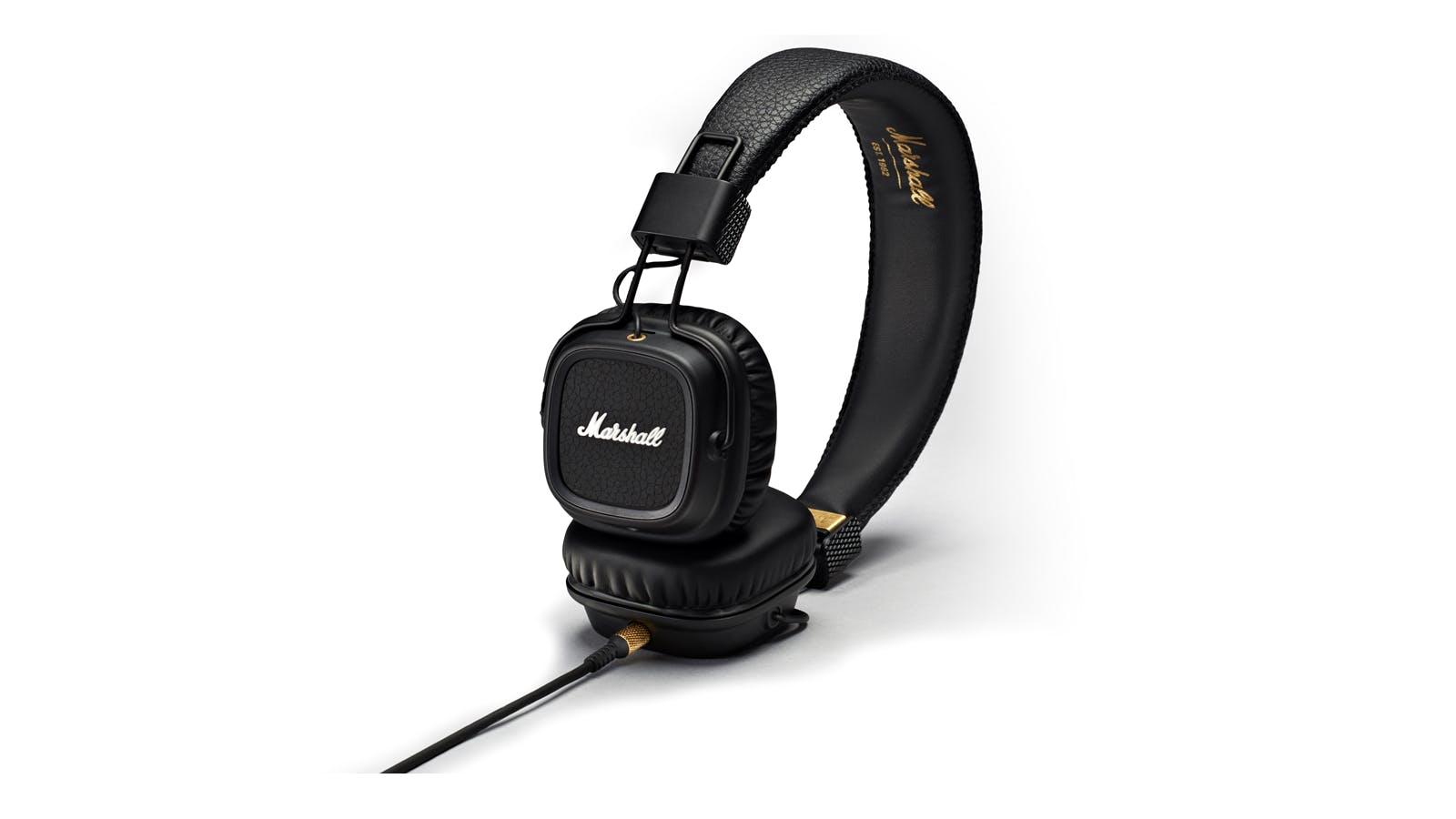 Marshall Major II IOS Headphones - Black  ab1da056e7