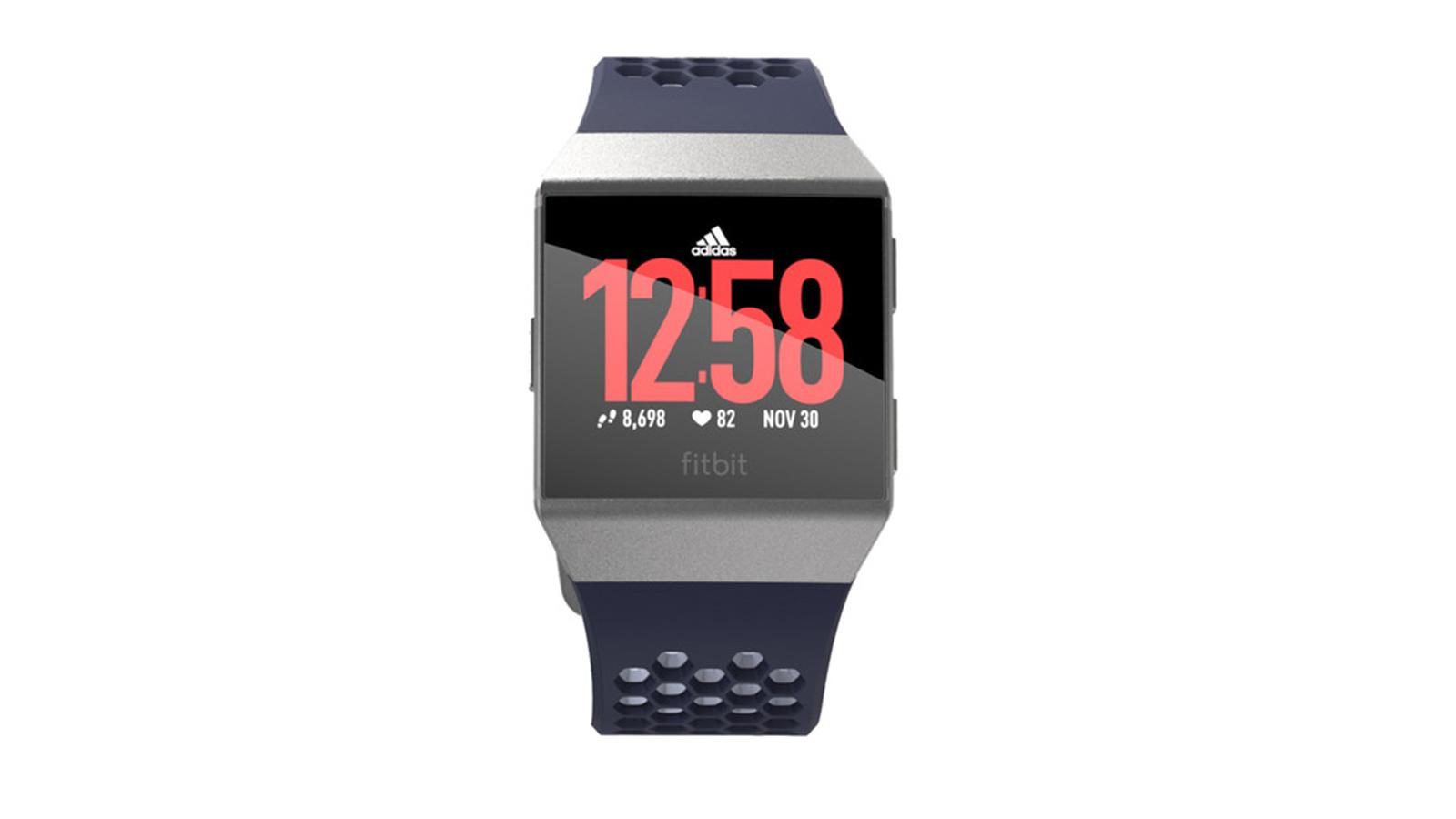 Fitbit Ionic Fitness Reloj Adidas edicion tinta azul / gris hielo