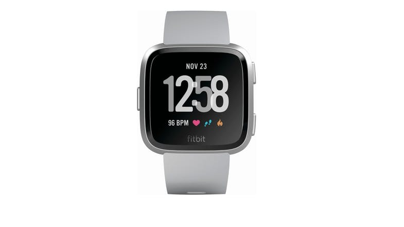Fitbit Fb505srgy Cjk Versa Grey Silver Harvey Norman